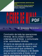Capitulo i Cierre de Minas