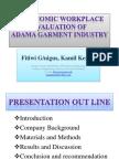 Ppt Ergonomic Workplace Evaluation Of