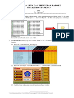 Panduan Link Dan Cetak Raport Kurikulum 2013