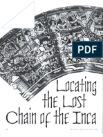 Locating the Lost Chain of the Inca - Mysteries Magazine #05