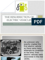 the resurrection of electric vehicles