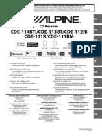 Alpine Cde 111rm