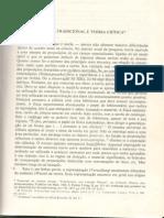 OS PENSADORES HORKHEIMER- Teoria Tradicional e Teoria Critica