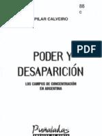 CALVEIRO, Pilar - Poder y desaparición.pdf