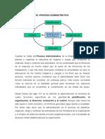 El Proceso Administrativo de La Empresa