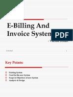 E-Billing & Invoice System