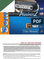 Audigy 2 Platinum EX