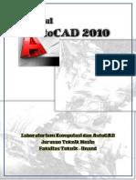 Modul Praktikum AutoCAD Tahun 2014