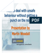 How to Deal With Unsafe Behaviour