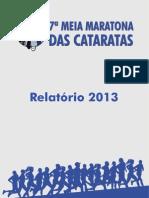 Relatório 7ª Meia Maratona Das Cataratas