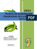 Manual Harina de Plátano