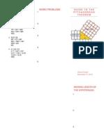 pythagorean theorem word