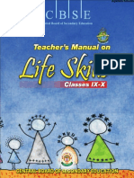 CBSE Class IX Teachers Manual for Life Skills