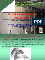 TALLER de MECANICA - Maquinas Herramientas