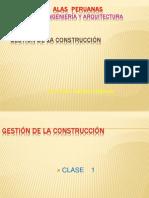 Gestión de La Construcción-UAP
