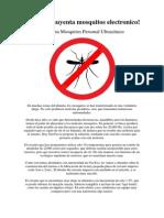 Crea Un Ahuyenta Mosquitos Electronico