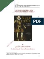 El Duque de Lerma