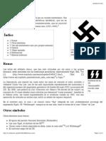 Símbolos Nazis - Wikipedia, La Enciclopedia Libre