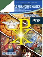 Jornal paroquia SFXavier Fabri Junho 2014