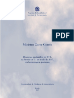 Plaqueta Oscar Correa Homenagem Postuma