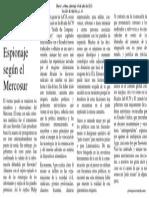 3. Espionaje Mercosur. 14-07-2013