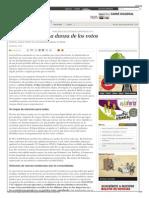 La Danza de Los Votos - Periódico Diagonal