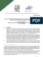 Comments ERRC NRC Macedonia
