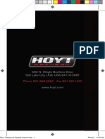 2014 Hoyt Compound Owners Manual