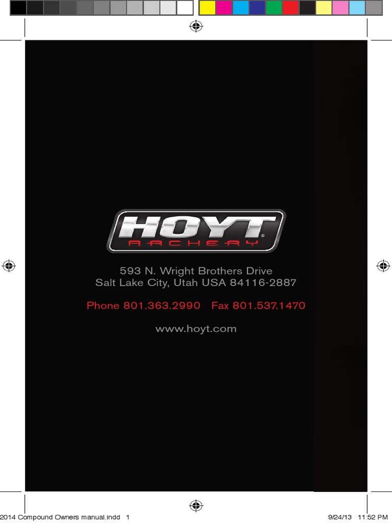 2014 hoyt compound owners manual bow and arrow arrow rh scribd com hoyt ignite owners manual hoyt gmx owners manual
