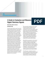Measurement of DTV Signals