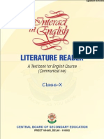 CBSE Class X Interaction in English Literature Reader