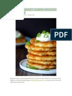Batata Cheesy Sobra Mashed Pancakes