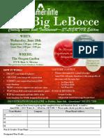 The Big LeBocce 2014 Silverton