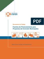Documento Fuentes Financiamiento Pips 2013