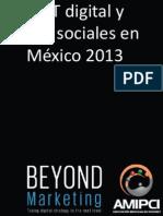 Estudio sobre MKT y Redes Sociales en México.