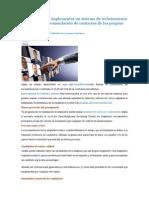10 Razones Para Implementar Un Sistema de Reclutamiento Basado en La Recomendación de Contactos de Los Propios Empleados