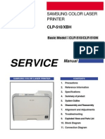 Samsung Clp510 service manual