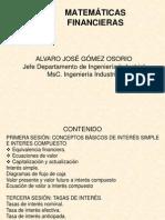 Modulo Matematicas Financiera y Analisis de Inversiones