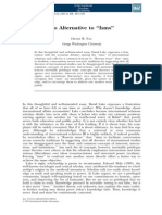 No Alternative to ''Isms'' - Article from International Studies Quarterly