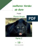 Cap. 13 - OS DESOLHARES VERDES DO GATO, por Pôncio Arrupe