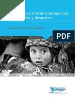 Guía de Apoyo Psicosocial en Emergencias Humanitarias y Desastres