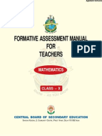 CBSE Class X Teachers Manual for Mathematics