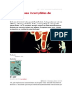 Schirrmercher, Las Promesas Incumplidas de Internet, 2012