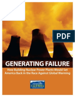 Generating Failure - Environment California
