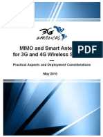 Mimo and Smart Antennas for 3g and 4g Wireless Systems May 2010 Final