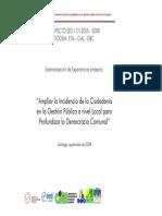 Sistematizacion Proyecto Ampliar La Incidencia (1)