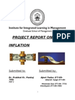 Project Report on Inflation