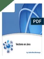 Vectores Java