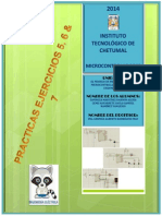 Microcontroladores Prac. 4, 5 & 6 (Ejer. 5, 6 & 7)