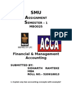 Financial Accounting 1